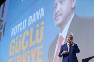 Cumhurbaşkanı Recep Tayyip Erdoğan, AK Parti 3. Olağanüstü Kongresinde Partililere Seslendi