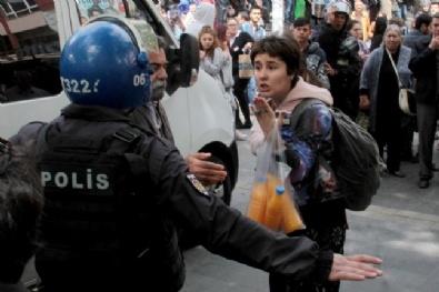 Ankara'da KHK Arbedesi: 10 Gözaltı