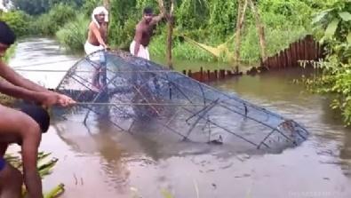 Böyle balık tutma taktiği gördünüz mü?
