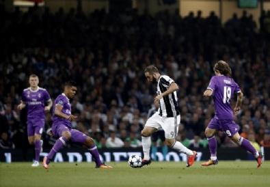 Real Madrid- Juventus Maçından Kareler