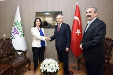 Kılıçdaroğlu HDP Genel Merkezi'nde