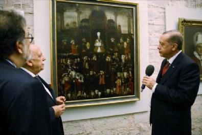 Cumhurbaşkanı Erdoğan, Topkapı Sarayı'nda açılışa katıldı