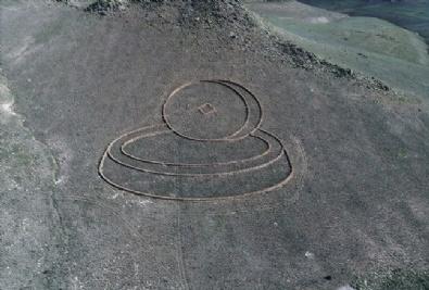 Kapadokya'nın Uzaydan Görülen Heykelleri