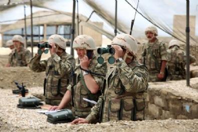 Azerbaycan'da Askeri Tatbikat