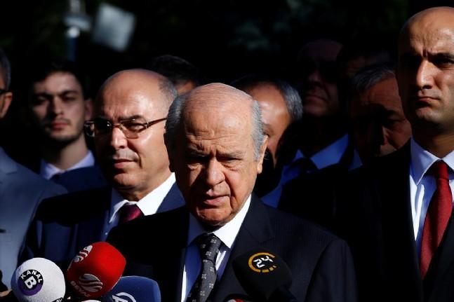 devlet bahceli - Devlet Bahçeli Bayram Namazı Sonrası Konuştu