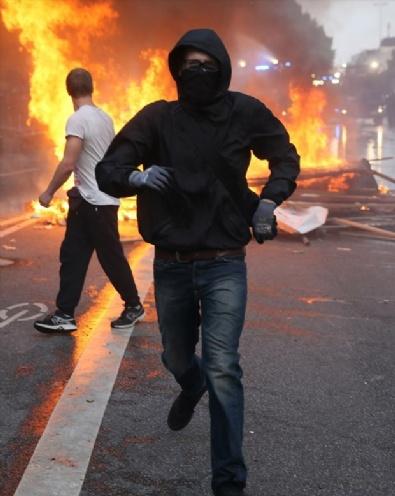 HAMBURG - G20 Zirvesi Protestolarında 196 Polis Yaralandı