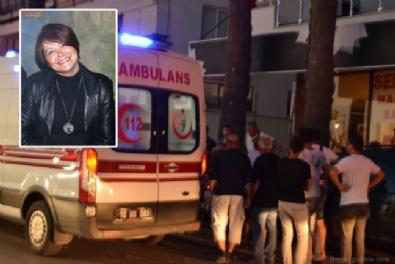 5.kattan otomobilin üzerine düşen kadın hayatını kaybetti
