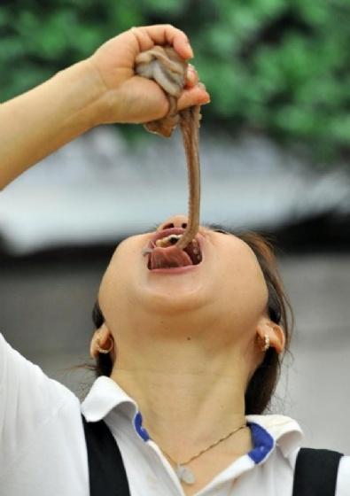 Çin'de yenilen en iğrenç 7 yemek