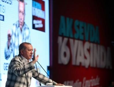 Cumhurbaşkanı Recep Tayyip Erdoğan Antalyada