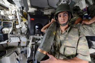 Mehmetçik'ten Teröristlere Eren Bülbül Yazılı Mermi