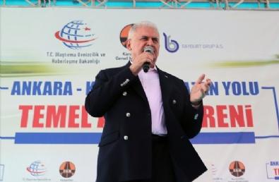 Başbakan Binali Yıldırım Ankara - Kahramankazan Yolu Temel Atma Törenine Katıldı