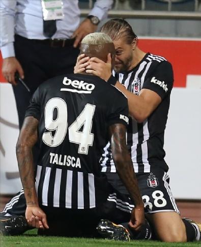 Beşiktaş-Kasımpaşa Maçından En Güzel Kareler