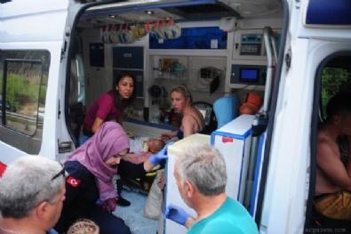 Antalya'da tur otobüsü devrildi! Çok sayıda yaralı var