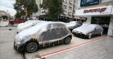 İstanbul'da doluya karşı kalkan