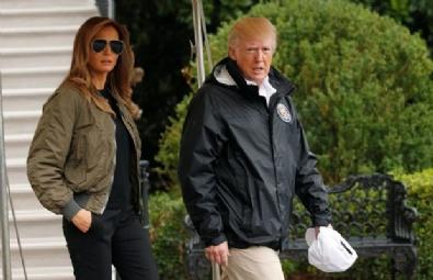 TRUMP - Melania Trump, Sel Bölgesini 12 Cmlik Topukluluklarıyla Ziyaret Etti