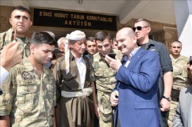 DERECIK - İçişleri Bakanı Süleyman Soylu: Yakındır tepenize bineceğiz, korkunun ecele faydası yok