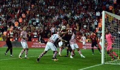 MILLI TAKıM - Türkiye-Hırvatistan Maçından En Güzel Kareler