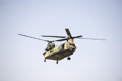 CH-47F yük helikopteri görücüye çıktı