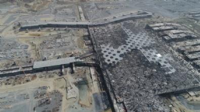 3üncü Havalimanı İnşaatı Görüntülendi