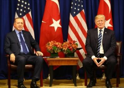 CUMHURBAŞKANı - Erdoğan Trump Görüşmesinden En Özel Kareler
