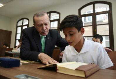 Recep Tayyip Erdoğan Anadolu İmam Hatip Lisesi Açılış Töreni