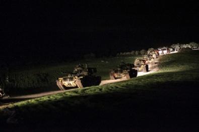 Türk Tankları Suriyeye Geçti