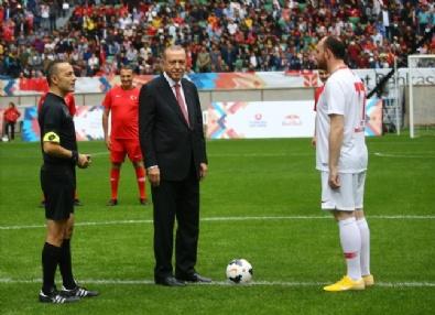 Başlama Vuruşu Başkan Erdoğan'dan