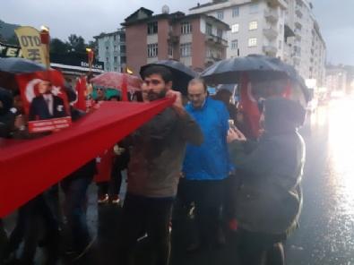 CHP Rize'de Andımız'ı Okuyamadı