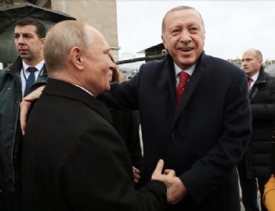 Erdoğan Putinle Bir Araya Geldi