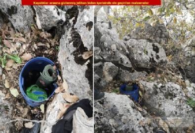 PKKnın Sığınakları Ele Geçirildi
