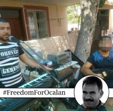 Düğünlerde PKK Propagandası Yapan YPGli Tutuklandı