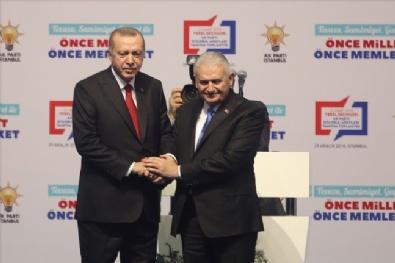 Binali Yıldırım Resmen AK Parti İstanbul Büyükşehir Belediye Başkan Adayı