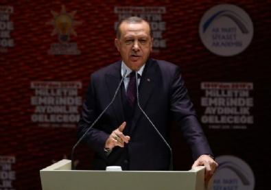 Erdoğan, AK Parti Siyaset Akademisi Açılış Programına Katıldı