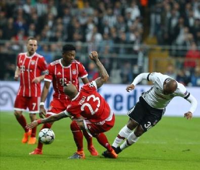 Fotoğraflarla Beşiktaş - Bayern Münih Karşılaşması