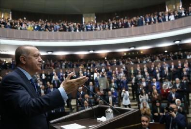 Erdoğan, Partisinin TBMM Grup Toplantısına Katılarak Konuşma Yaptı