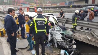 TIR ile minibüs çarpıştı, vali ve kaymakamların eşleri yaralandı