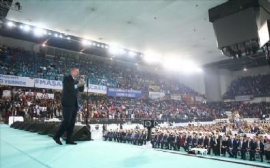 Erdoğan, Partisinin Genel Merkez Gençlik Kolları Kongresinde Konuştu