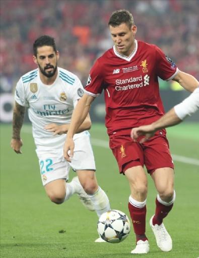 Real Madrid - Liverpool Maçından Kareler