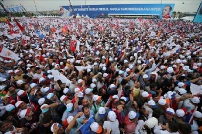 AK Partinin Yenikapı Mitingine Milyonlar Akın Etti