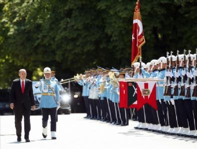 Cumhurbaşkanı Recep Tayyip Erdoğan Meclis'te
