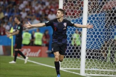 Hırvatistan - Rusya Maçından Kareler
