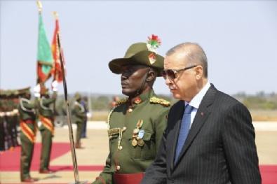 TÜRKİYE - Cumhurbaşkanı Erdoğan Zambiya'da