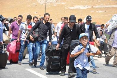 Suriyeliler Bayramlaşmak İçin Ülkelerine Gitmeye Başladı