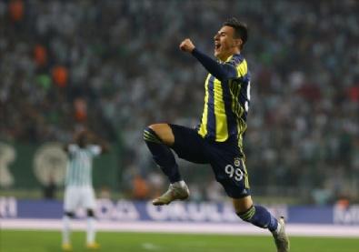 Konyaspor - Fenerbahçe Maçından Kareler