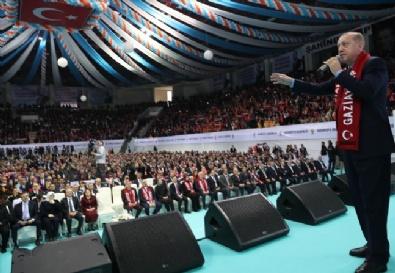 Cumhurbaşkanı Erdoğan Gaziantep'te