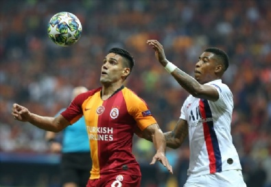 Galatasaray - Paris Saint-Germain Maçından Kareler