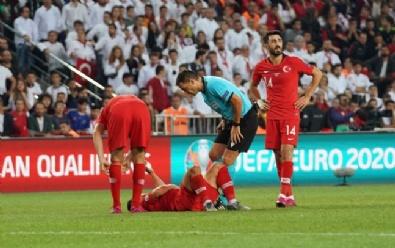 Türkiye Arnavutluk Maçından Kareler
