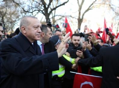 Cumhurbaşkanı Erdoğan, Londrada Coşku İle Karşılandı