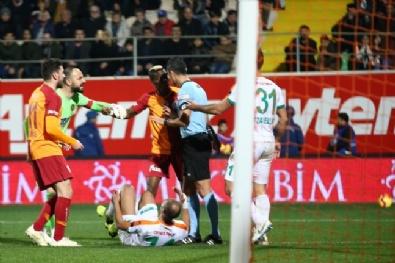 Galatasaray - Alanyaspor Maçından Kareler