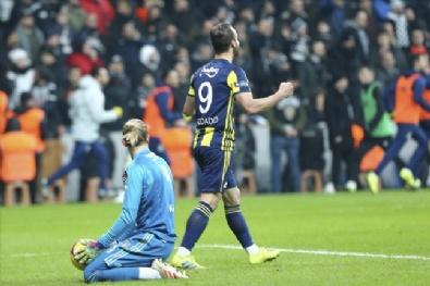 Beşiktaş - Fenerbahçe Maçında En Güzel Kareler
